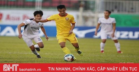 Thi đấu nỗ lực, Hồng Lĩnh Hà Tĩnh vẫn để mất điểm trên sân Pleiku