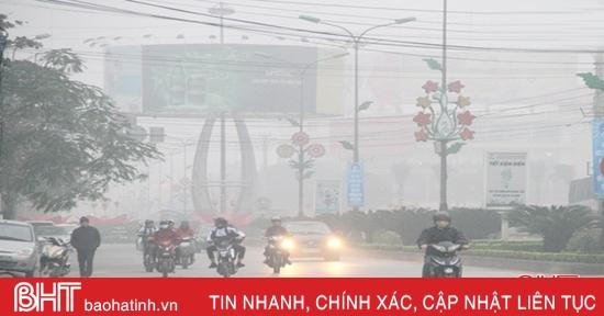 Thời tiết ngày 10/12: Hà Tĩnh nhiệt độ thấp nhất 14-17 độ C, trời rét