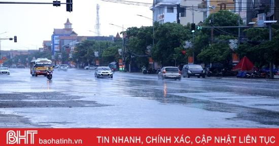 Thời tiết ngày 27/11: Hà Tĩnh mưa vài nơi, nhiệt độ thấp nhất 19-22 độ C