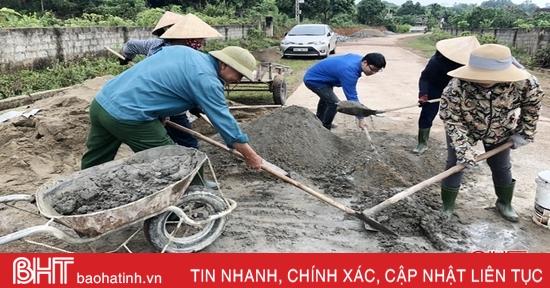 Thượng Lộc đầu tư hơn 18 tỷ đồng xây dựng nông thôn mới nâng cao