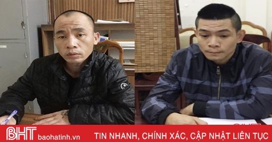 """Tiền án """"đầy mình"""" vẫn rủ nhau đột nhập phòng trọ ở TP Hà Tĩnh trộm đồ"""
