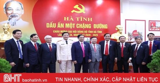 Toàn cảnh Đại hội Đảng bộ Hà Tĩnh lần thứ XIX, nhiệm kỳ 2020 - 2025