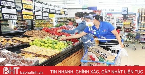 Tổng doanh thu bán lẻ hàng hóa ở Hà Tĩnh năm 2020 đạt hơn 40.800 tỷ đồng