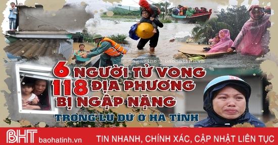 Tổng quan về trận lũ lịch sử ở Hà Tĩnh