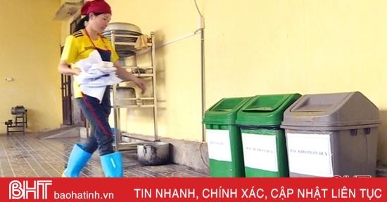 Tỷ lệ phân loại rác tại TP Hà Tĩnh chỉ đạt khoảng 35%