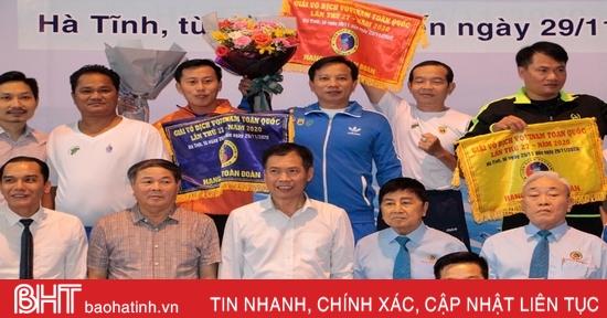 TP. Hồ Chí Minh nhất toàn đoàn Giải Vovinam toàn quốc diễn ra tại hà Tĩnh