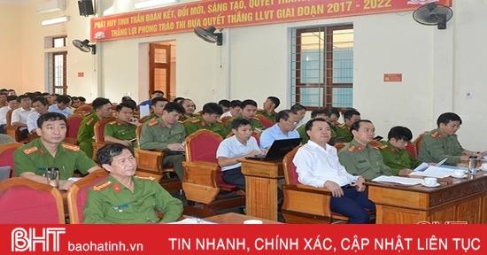 Trên 7.000 hộ gia đình ở thị xã Hồng Lĩnh đạt chuẩn an toàn về an ninh trật tự