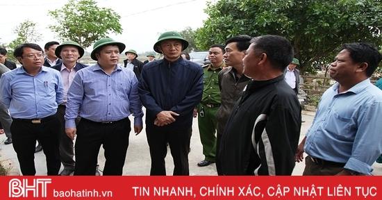 Tuyệt đối đảm bảo an toàn cho người dân Hà Tĩnh trong đợt mưa lớn sắp tới