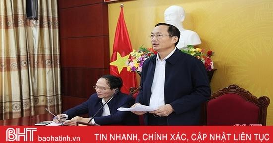 Tuyệt đối không để khu vực nguy hiểm nào ở Hà Tĩnh mất kiểm soát trong bão số 13
