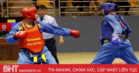 VĐV Hà Tĩnh giành huy chương tại Giải Vô địch Vovinam toàn quốc