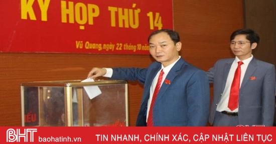 Vũ Quang bầu bổ sung 3 ủy viên UBND huyện nhiệm kỳ 2016-2021