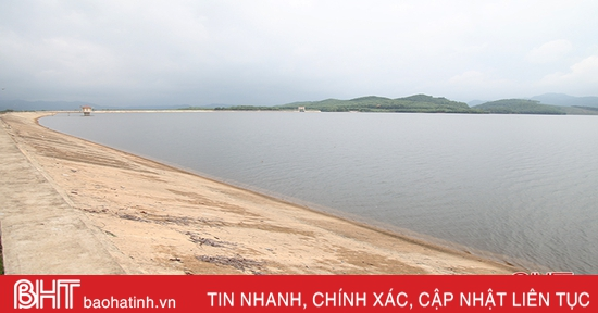 Xả 4 triệu m3 nước, hồ Bộc Nguyên an toàn hơn trước mùa mưa lũ