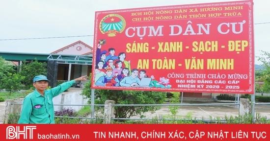 """Xã """"quán quân"""" xây dựng nông thôn mới nâng cao ở huyện miền núi Hà Tĩnh"""